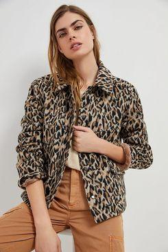 The Korner Amoura Leopard Coat