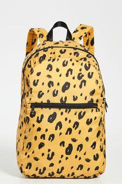 BAGGU Packable Backpack (Leopard)