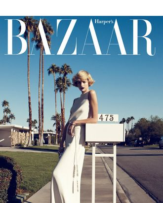 Bette Franke for <em>Harper's Bazaar</em>.