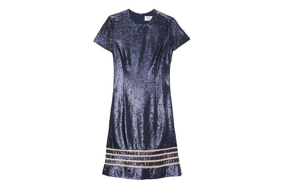 Sequin Dress Gigi Hadid