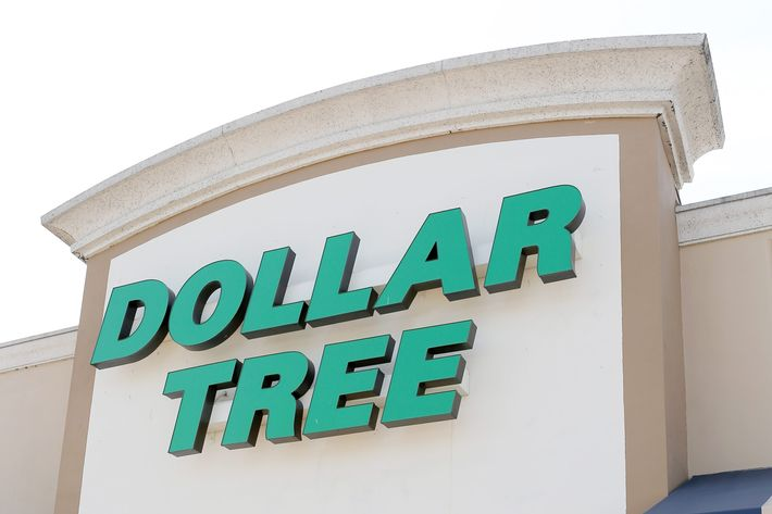 MIAMI, FL - JULY 28:  A Dollar Tree store is seen on July 28, 2014 in Miami, Florida.   Dollar Tree announced it will buy Family Dollar Stores for about $8.5 billion in cash and stock.  (Photo by Joe Raedle/Getty Images)