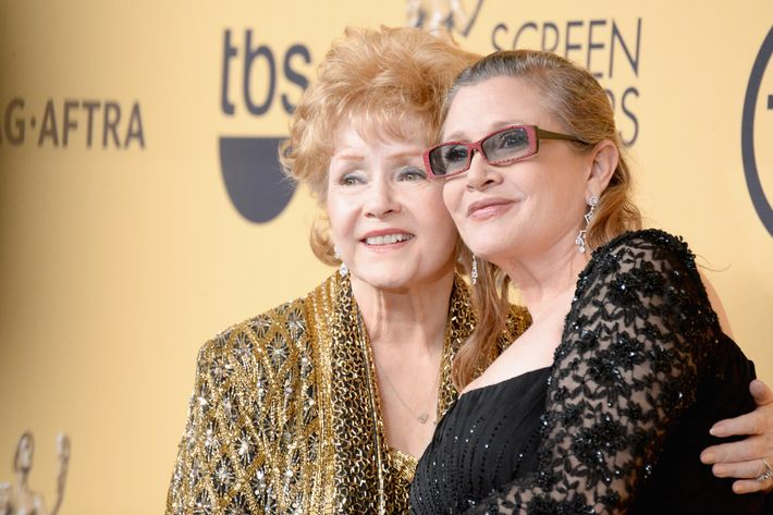 Actress Debbie Reynolds, mother of Carrie Fisher, dies at age 84