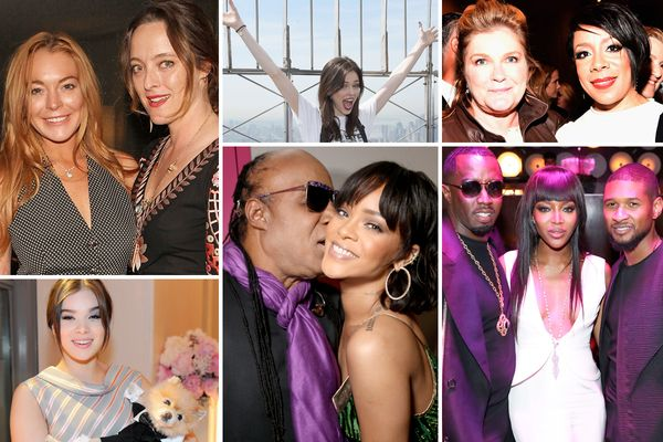 Lindsay Lohan and Rihanna Partied This Week