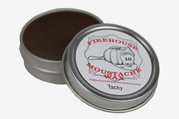 Firehouse Moustache Wax in Wacky Tacky, 1 Ounce