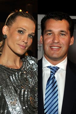 Molly Sims and Scott Stuber.