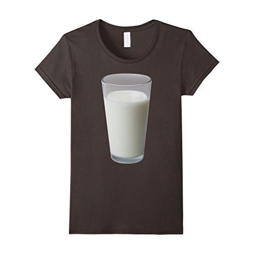 Glass of Milk Costume T-Shirt