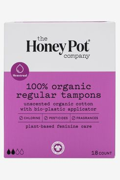 The Honey Pot Regular Organic Tampons
