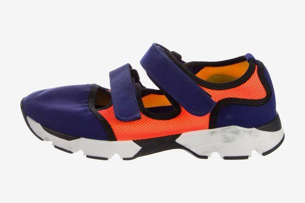 Marni Paneled Low-Top Sneakers