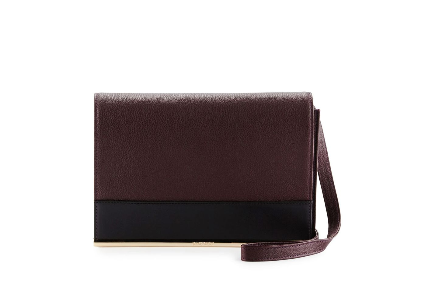 See by Chloe Amy Leather Clutch Bag