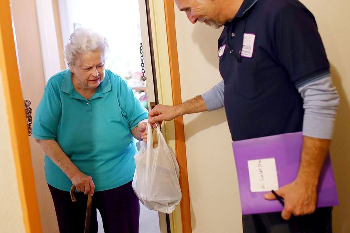 Donations for Meals on Wheels skyrocket since Trump budget cut funding