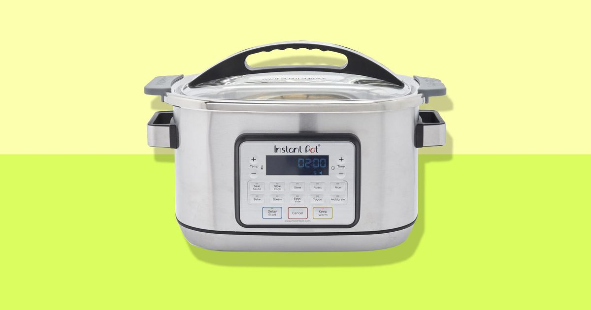 Just in Time for Roast and Stew Season, This Instant Pot Slow Cooker Is a Mere $60