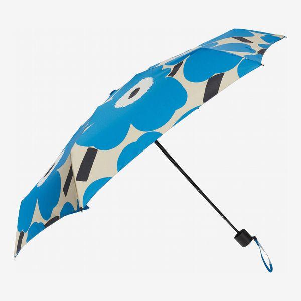 Marimekko Mini Unikko Floral-Print Manual Umbrella