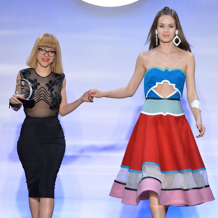 Namibia Viera Martinez and her award winning design.