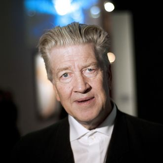 US film director David Lynch poses at the French cinematheque (La Cinematheque Francaise) on October 13, 2010, in Paris during a visit of the