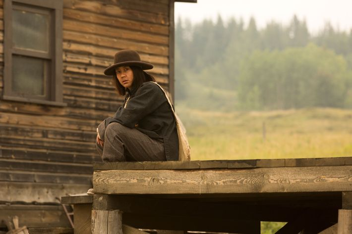 Angela Zhou as Mei Fong - Hell on Wheels _ Season 5, Episode 11 - Photo Credit: Michelle Faye/AMC