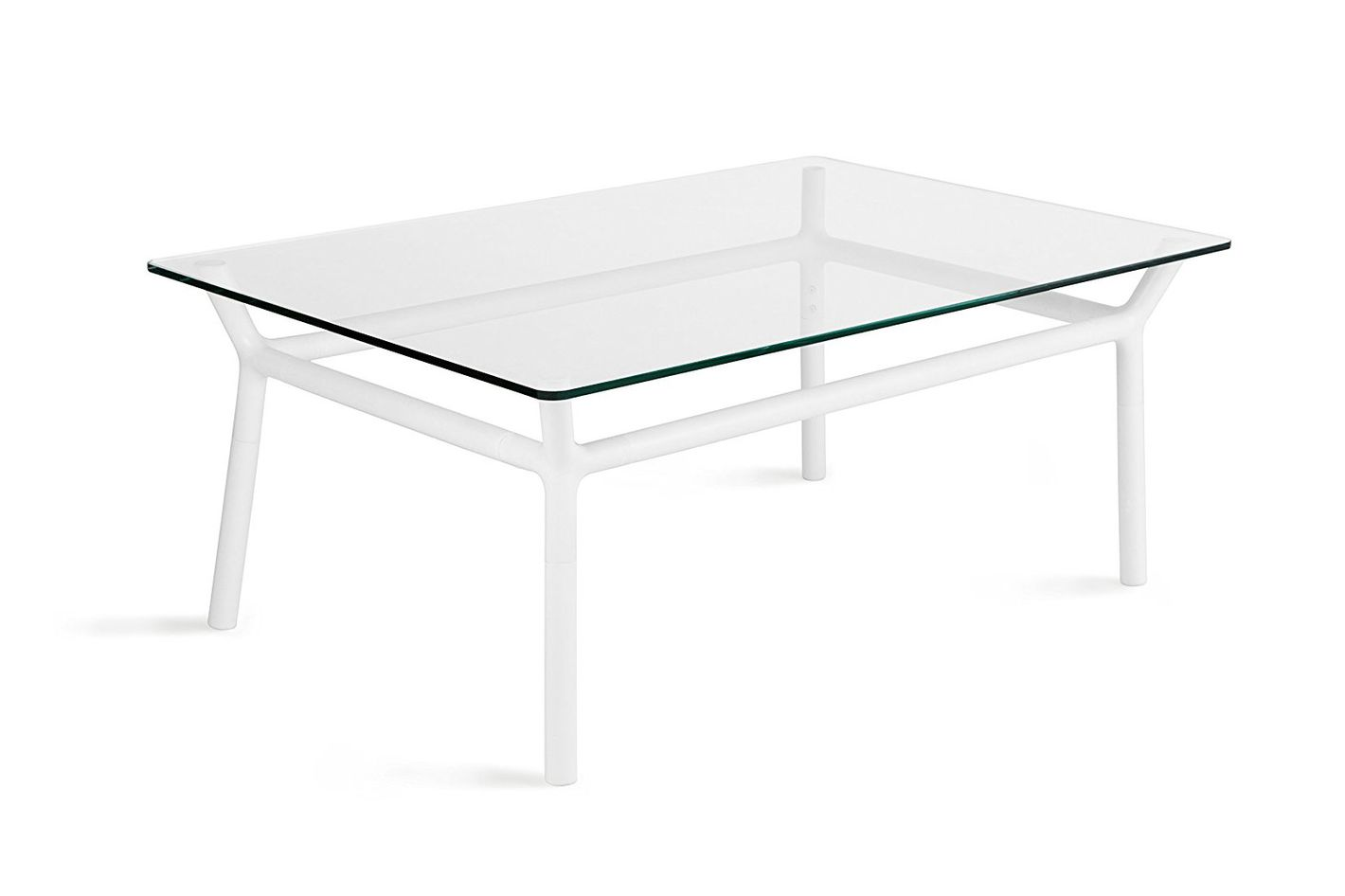 Use This Sleek And Surprisingly Affordable Coffee Table Its Umbra To Complement Even The Most Colorful Room