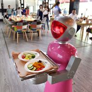 Restaurant Fires Robot Waiters After Learning They Can't Even Pour Water