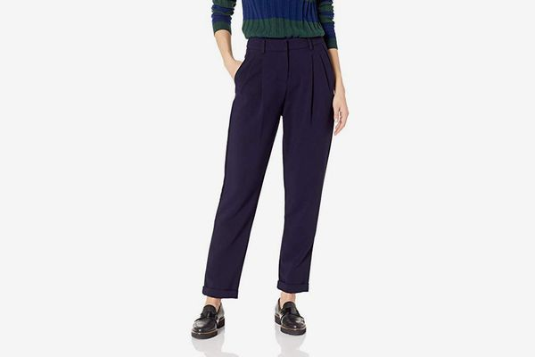 A|X Armani Exchange Women's Cropped Relaxed Trousers