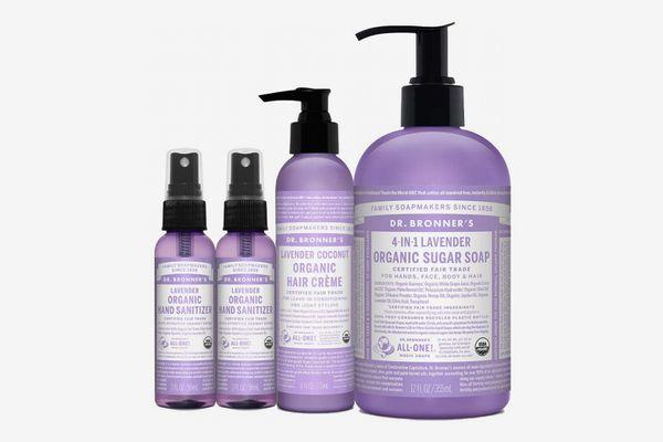 Dr. Bronner's 4-Piece Organic Lavender Gift Set