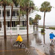 Hurricane Joaquin in Charleston
