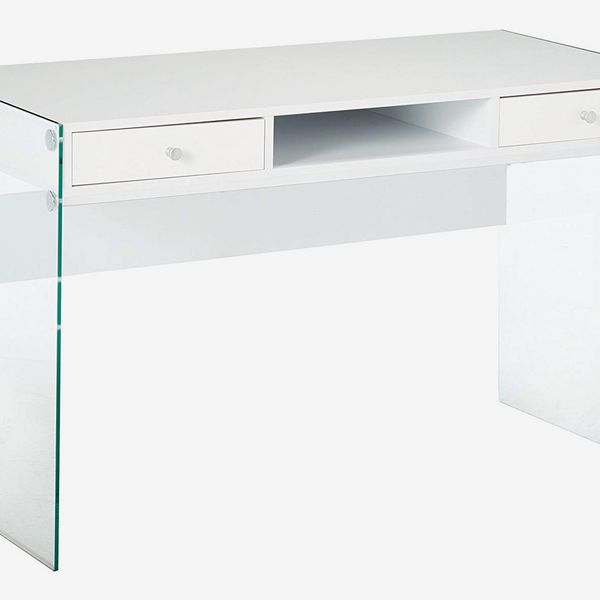 Coaster Home Furnishings Writing Desk With Glass Sides