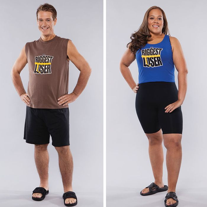 Biggest Loser season 8 contestants Danny Cahill, Dina Mercado, and Sean Algaier.