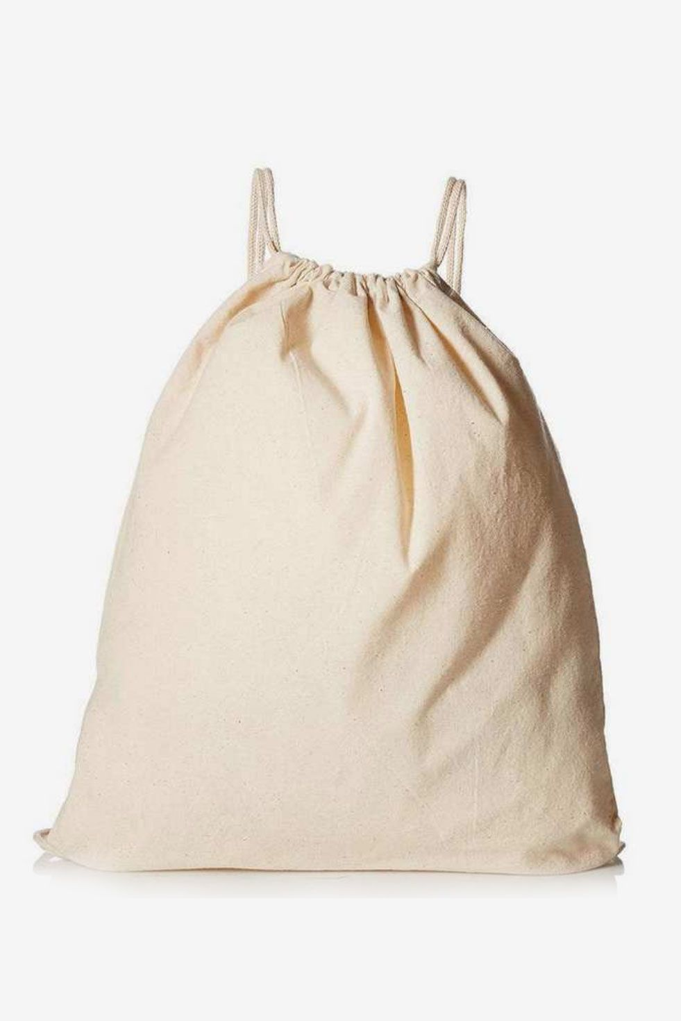 Yingkor Cotton Canvas Muslin Drawstring Bags