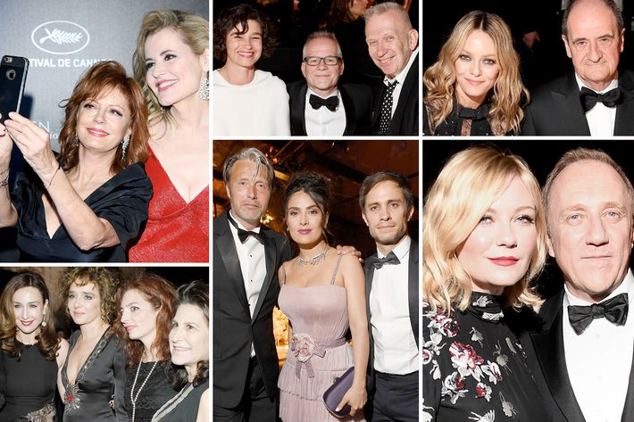 Scenes from the Kering and Cannes Film Festival dinner.