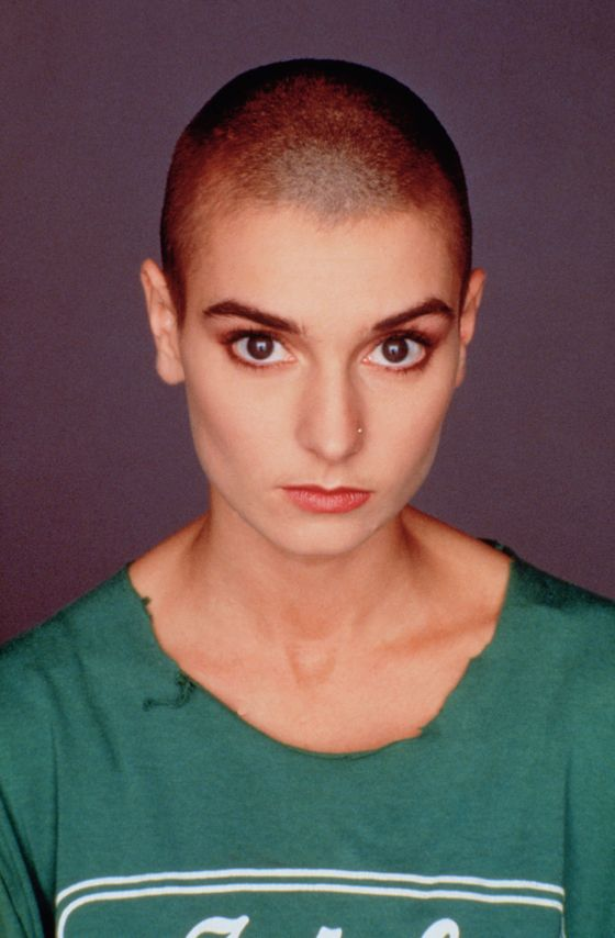 "The ""Nothing Compares 2 U"" Singer has almost always worn her head shaved, mostly to ""defy old-school rules about women,"" according to the <a href=""http://articles.latimes.com/2012/feb/20/entertainment/la-et-sinead-oconner-20120220"">LA <i>Times</i></a>. She once <a href=""http://www.dailymail.co.uk/tvshowbiz/article-1263325/Dowdy-Sinead-OConnor-barely-compares-shaved-head-look-iconic-music-video.html#ixzz2K3xwjZuK"">told a reporter</a>, ""I don't feel like me unless I have my hair shaved. So even when I'm an old lady, I'm going to have it."""