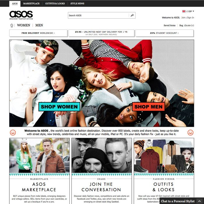 is asos online only