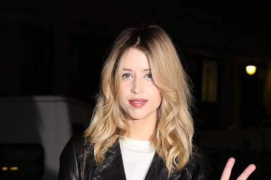 PARIS, FRANCE - FEBRUARY 25:  Peaches Geldof attends the ETAM show as part of the Paris Fashion Week Womenswear Fall/Winter 2014-2015 on February 25, 2014 in Paris, France.  (Photo by Pierre Suu/Getty Images)
