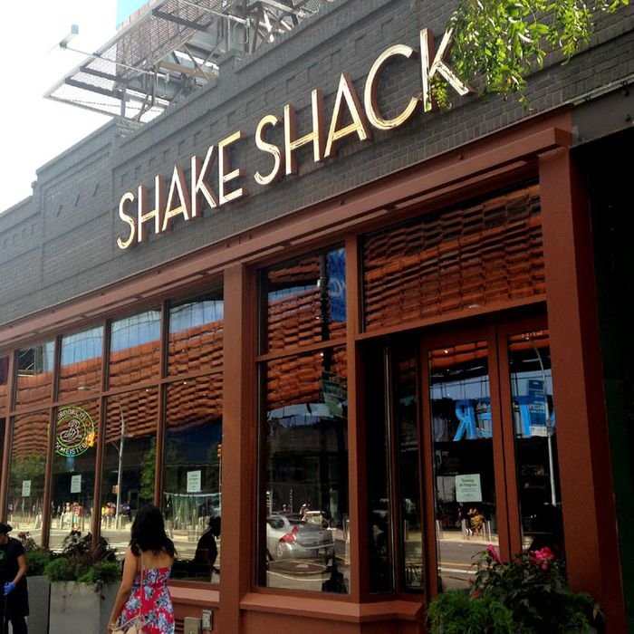 The Barclays-area Shack has a