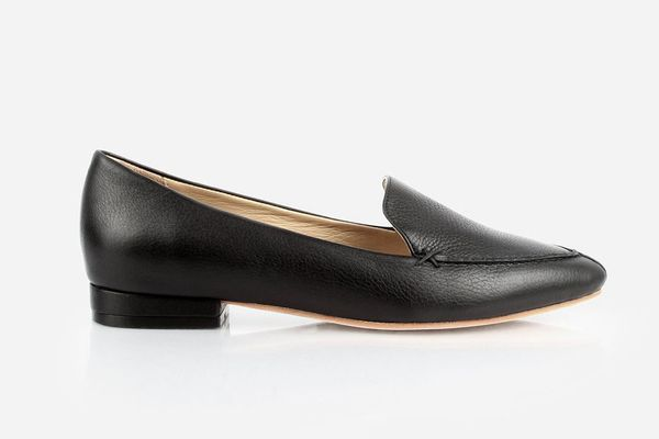 Poppy Barley The Classic Loafer Black Pebble