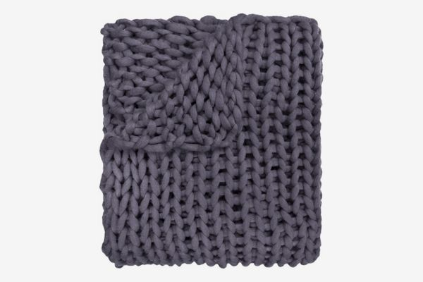 Three Posts Hardwick Chunky Knitted Acrylic Throw