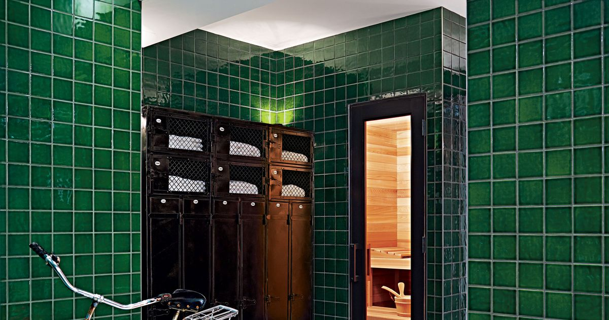 new york design hunting private locker room sauna in global urban design international experiments new