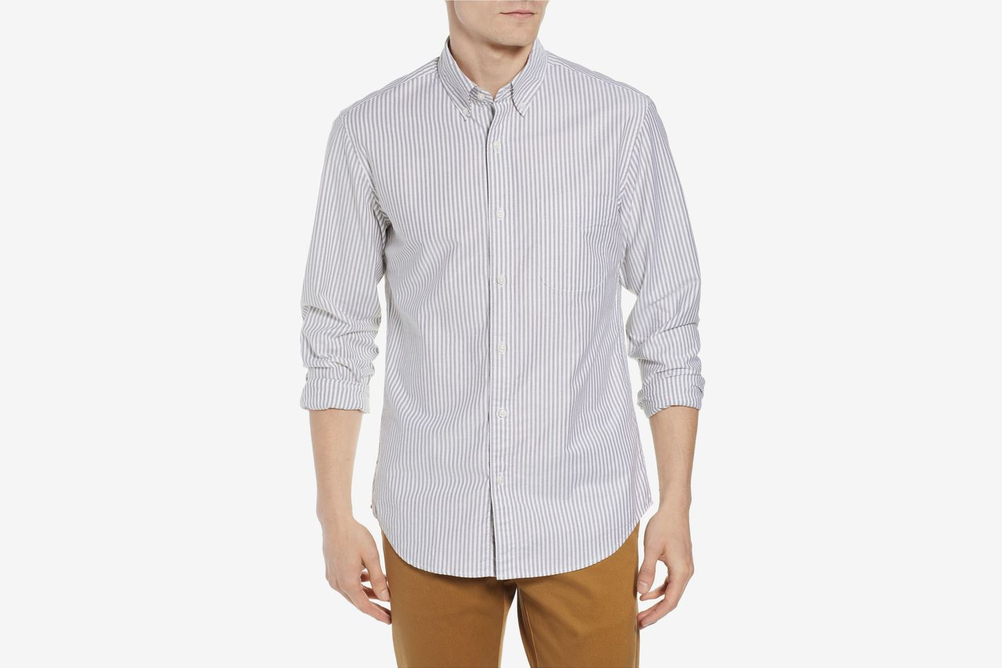 f753e70e J.Crew Slim Fit Stretch Pima Cotton Oxford Shirt at Nordstrom