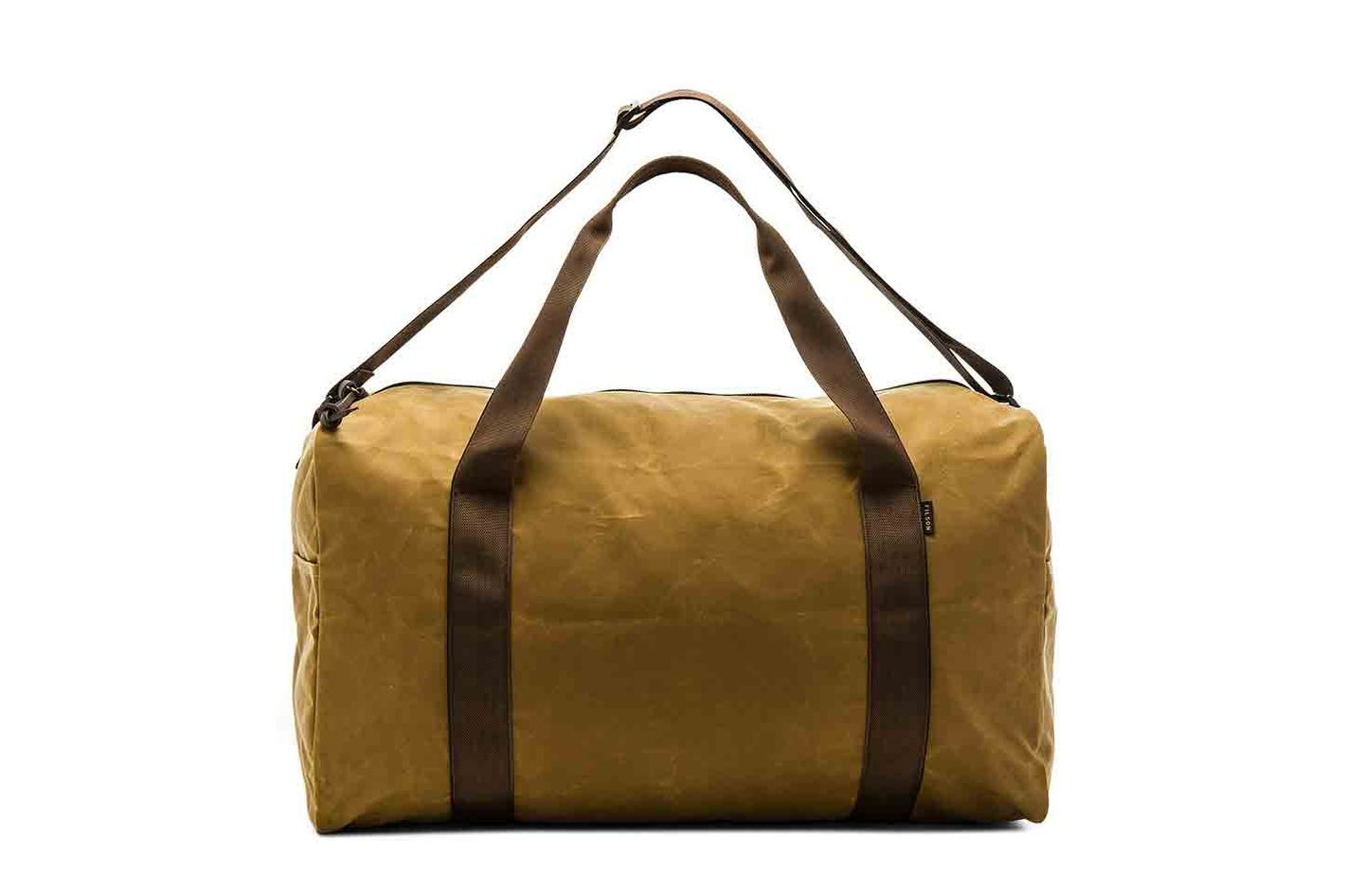 Filson Medium Field Duffle, Dark Tan and Brown