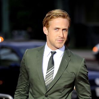 BEVERLY HILLS, CA - SEPTEMBER 27: Actor Ryan Gosling attends the Premiere of Columbia Pictures' 'The Ides Of March' held at the Academy of Motion Picture Arts and Sciences' Samuel Goldwyn Theatre on September 27, 2011 in Beverly Hills, California. (Photo by Frazer Harrison/Getty Images)