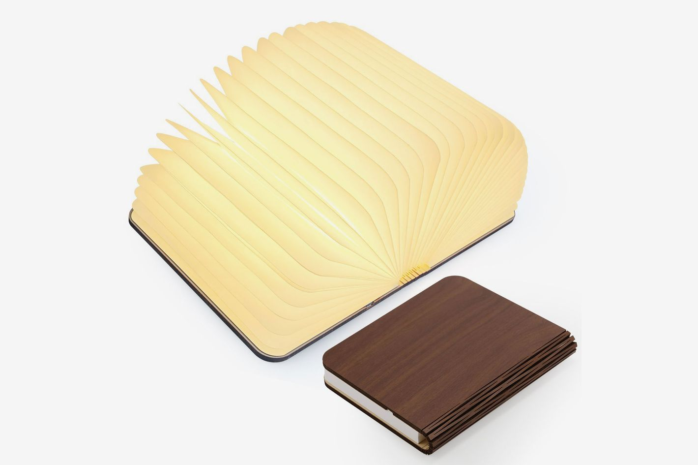 Magicfly Wooden Folding Book Light