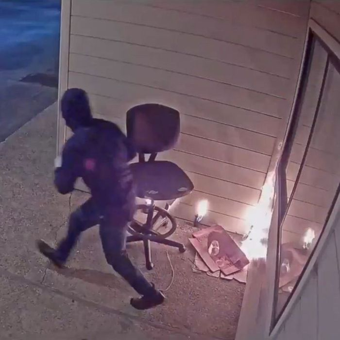 Arsonist lighting fire to a Planned Parenthood in Watsonville, California.