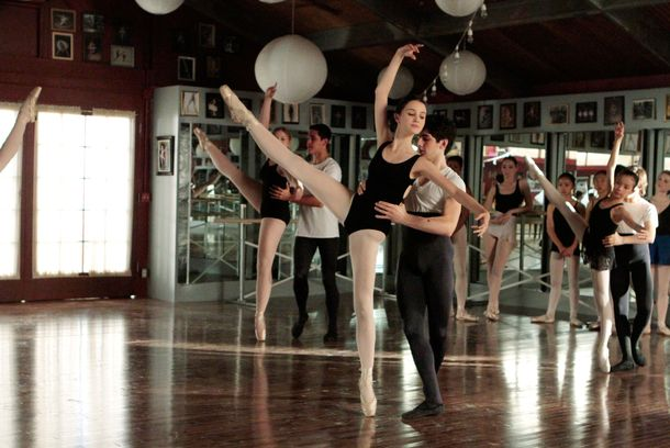 "BUNHEADS - ""Channing Tatum is a Fine Actor"" - Michelle is back in the thick of it in an all-new episode of ABC Family's original series ""Bunheads,"" airing Monday, January 14 at 9:00PM ET/PT on ABC Family."