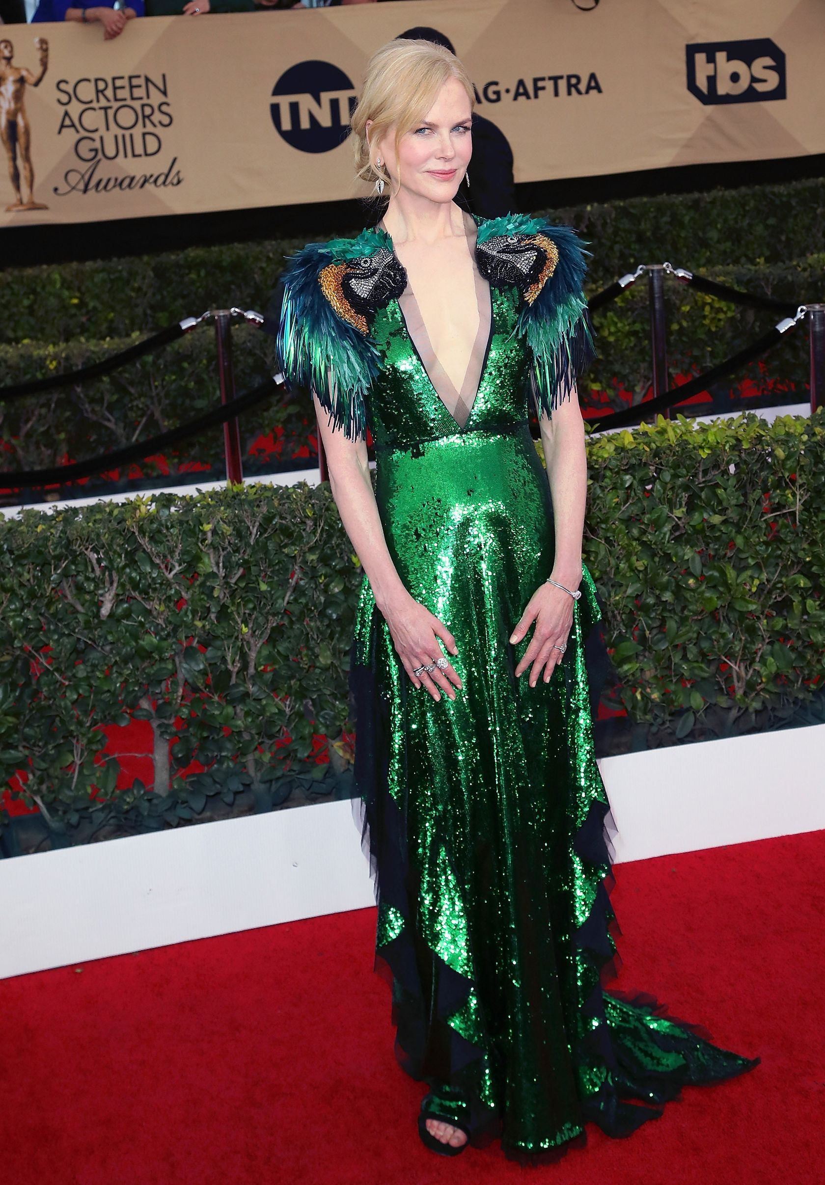 Most Gloriously Over-the-Top Gown: Nicole Kidman in Gucci - The Best ...