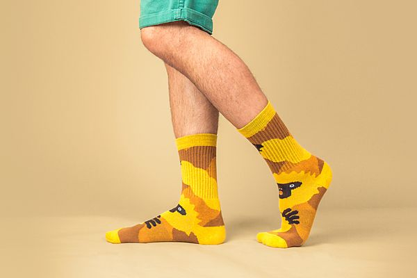 Socks for Animals Golden Langur Socks