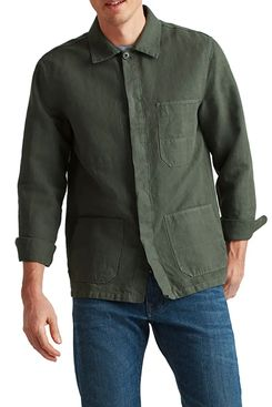 Bonobos fitted hemp and cotton work coat
