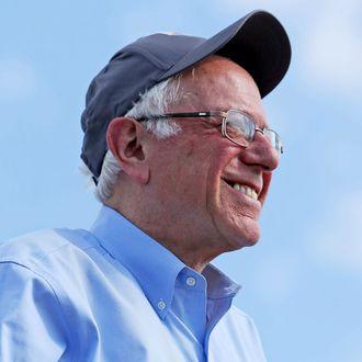 Bernie Sanders Campaigns In Florida