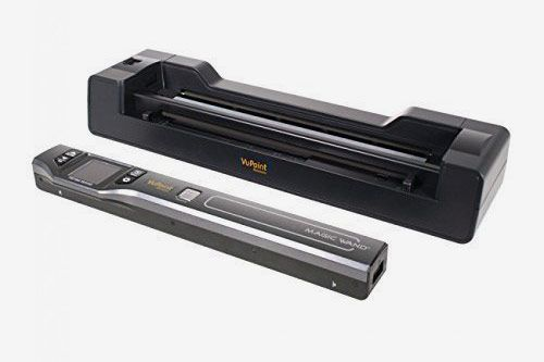 Vupoint Solutions Magic Wand Portable Scanner and Auto-Feed Dock