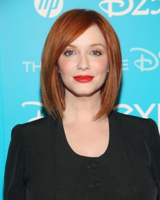 ANAHEIM, CA - AUGUST 09: Actress Christina Hendricks of