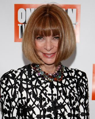 Anna Wintour, piano-banisher.