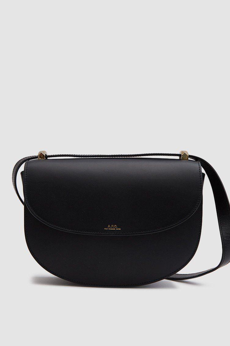 A.P.C. Genève Shoulder Bag in Black