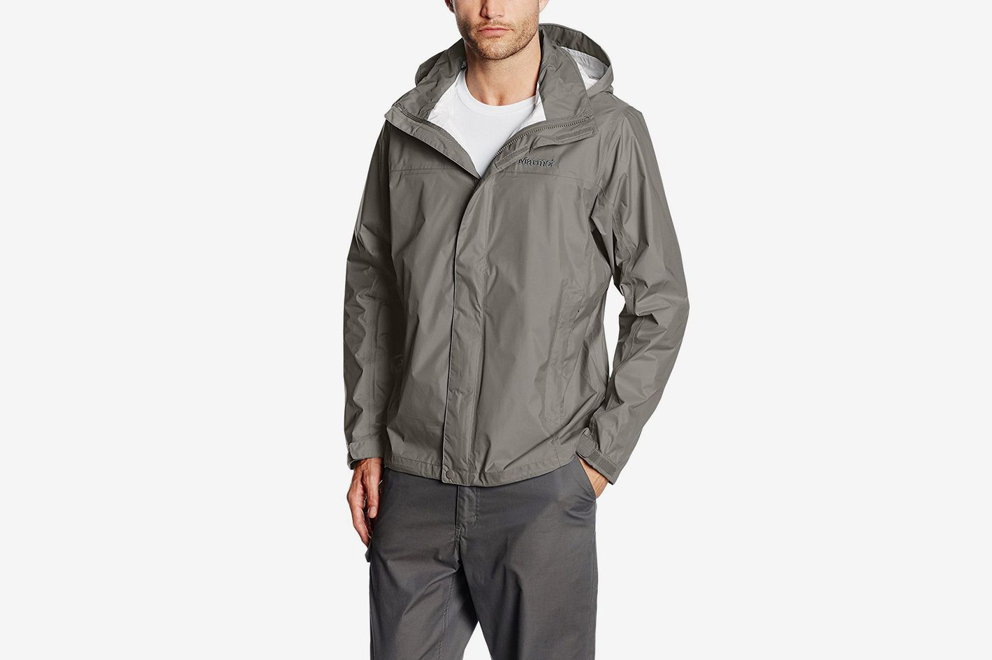 d7342749445 Best short rain jacket with a chin guard. Marmot Precip Jacket